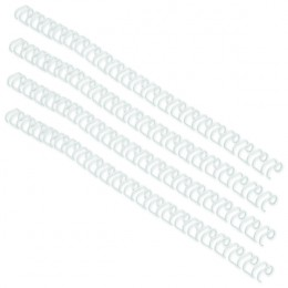 GBC 5mm 34 Ring Wires White [Pack of 100]