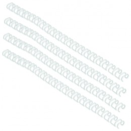 GBC 9.5mm 34 Ring Wires White [Pack of 100]