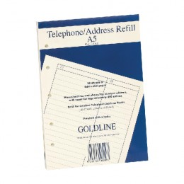 Guildhall Address Book Refill A5