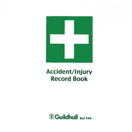 Guildhall Accident Report Book T44