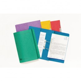 Europa Pocket Spiral File Assorted [Pack of 25]