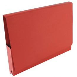 Guildhall Pocket Wallet 14x10 Red [Pack of 50]