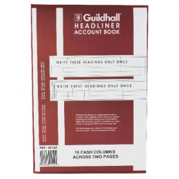 Guildhall Headliner Book 38/16