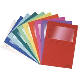 Forever Window File Assorted [Pack of 100]