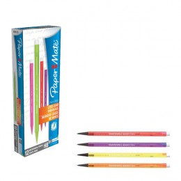 PaperMate Pencil Non-Stop Assorted Colours [Pack of 12]