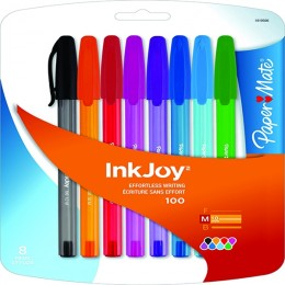 PaperMate Inkjoy 100 Assorted [Pack of 10]