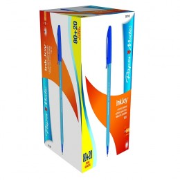PaperMate InkJoy 100 Value Pack Blue [Pack of 100]