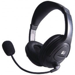 Computer Gear HP 512 Multimedia Stereo Headset With Boom Microphone