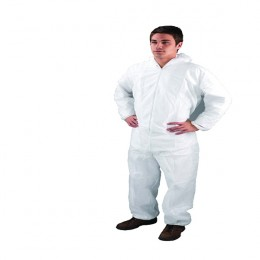 Economy Coveralls Large White
