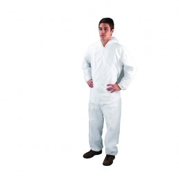 Economy Coveralls Extra Large White