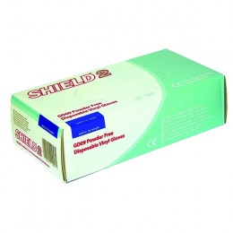 Disposable Vinyl Gloves Powder Free Clear L [Pack of 100]
