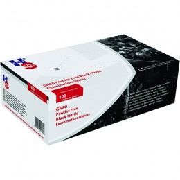 Speciality Nitrile Gloves Black M [Pack of 100]