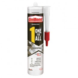 Unibond One For All Crystal Adhesive 390G
