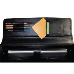 Monolith Executive Leather Look Pilots Case