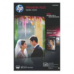 HP CR695A Premium Plus Glossy Photo Paper [Pack of 50]