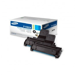 Samsung MLT-P1082A Black Toner Cartridge Twin Pack