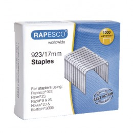 Rapesco 923/17mm Staples [Pack of 1000]
