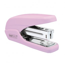 Rapesco X5-25PS Less-Effort Stapler Candy Pink