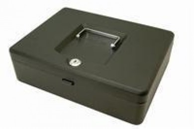 Helix Value Cash Box 12IN Black WN9010