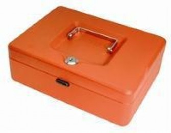 Helix Value Cash Box 10IN Red WN8060