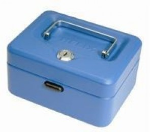 Helix Value Cash Box 6IN Blue WN6080