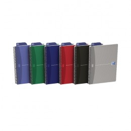 Oxford Office Wirebound Notebook Soft Cover A5 Assorted [Pack of 5]
