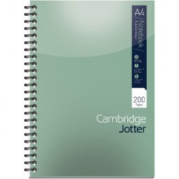Cambridge Jotter Notebooks A4 [Pack of 3]