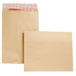 New Guardian Gusset Envelopes Peel and Seal 406x305x25mm [Pack of 100]