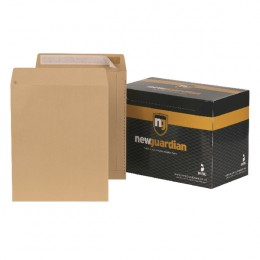 New Guardian Envelopes Peel and Seal Manilla C3 [Pack of 125]
