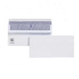 Plus Fabric Envelopes Press Seal DL White [Alternative Picture 2]