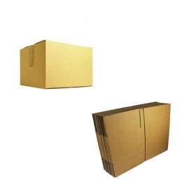 Single Wall Corrugated Boxes 305x229x229mm [Pack of 25]