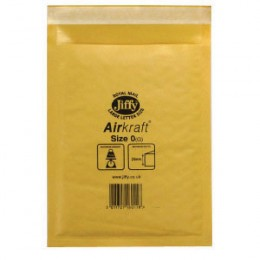 Jiffy Airkraft Size 0 Gold Multi [Pack of 10]
