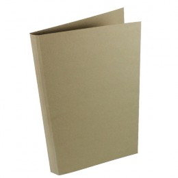 Concord Square Cut Folder Heavyweight Foolscap Buff [Pack of 100]
