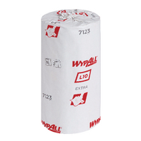 Wypall L10 Small Roll 1 Ply Blue