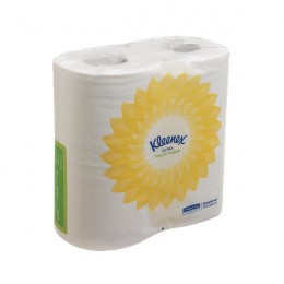Kleenex Ultra Toilet Tissue Small Roll 2-Ply 240 Sheets White [Pack of 40]