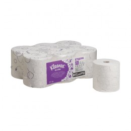 Kleenex Ultra 2 Ply White Hand Towel Roll 150m Pack of 6