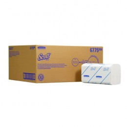Scott Hand Towels Infold Small White