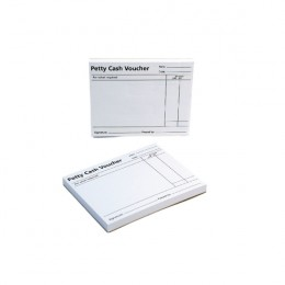 Q-Connect Petty Cash Voucher Pad [Pack of 10]