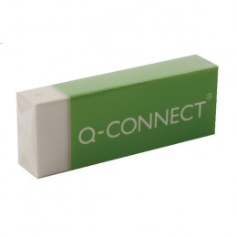 Q-Connect White PVC Eraser [Pack of 20]