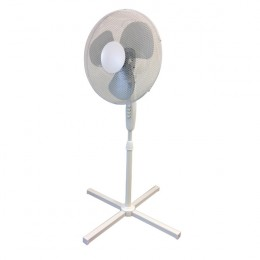 Q-Connect Floor Standing Fan 410mm/16 Inch