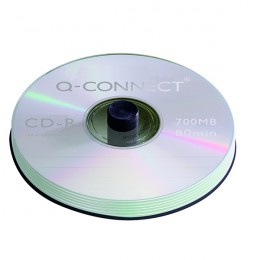 Q-Connect CD-R 700Mb, 80 Minute Spindle [Pack of 50]