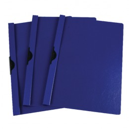 Q-Connect Quickclip File 6mm Dark Blue [Pack of 25]