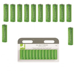 Q-Connect AA Batteries [Pack of 12]