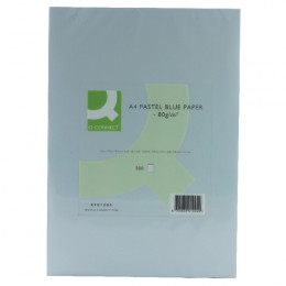 Q-Connect Blue Copier Paper A4 80g Ream