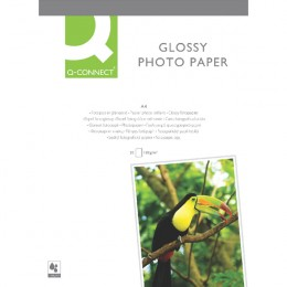 Q-Connect Photo Gloss Inkjet Paper A4 [20 Sheets]