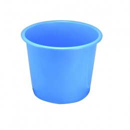Q-Connect Waste Bin 15 Litre Blue