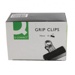 Q-Connect Grip Clips 70mm [Pack of 10]