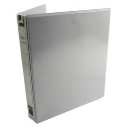 Q-Connect Presentation Binder 4 D-Ring 25mm White [Pack of 6]