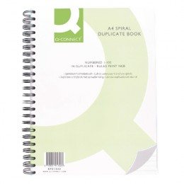 Q-Connect Wiro Bound Duplicate Book 12x9 Inches