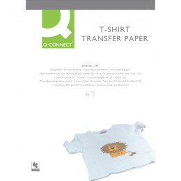 Q-Connect T-Shirt Transfer Paper [Pack of 10]